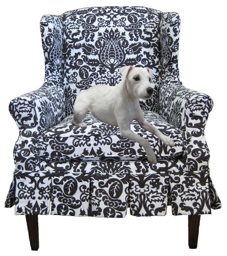 Slipcovers are pet-friendly, easy to keep clean