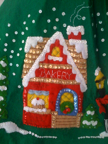 'The Bakery' - Christmas Village Tree Skirt.