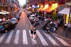Navigli. Milan, Italy