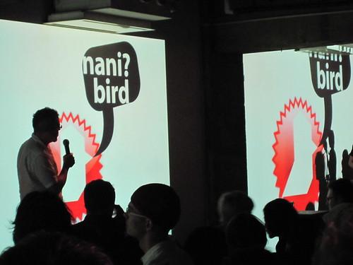 nani birds @ pecha kucha tokyo