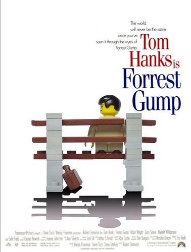 Forrest Gump-Lego
