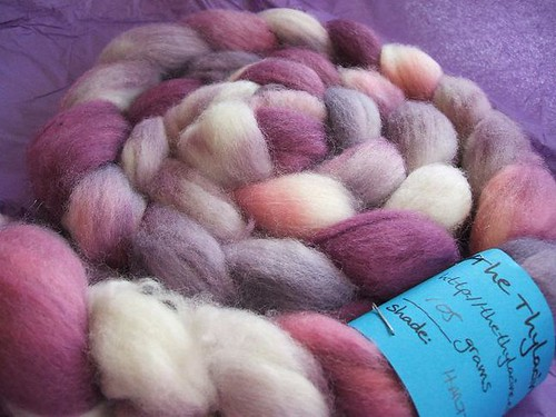 Hartzview sock fibre from The Thylacine