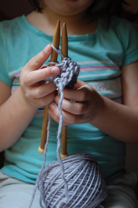 Beginning Knitting for Kids