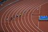Fases de una carrera de atletismo