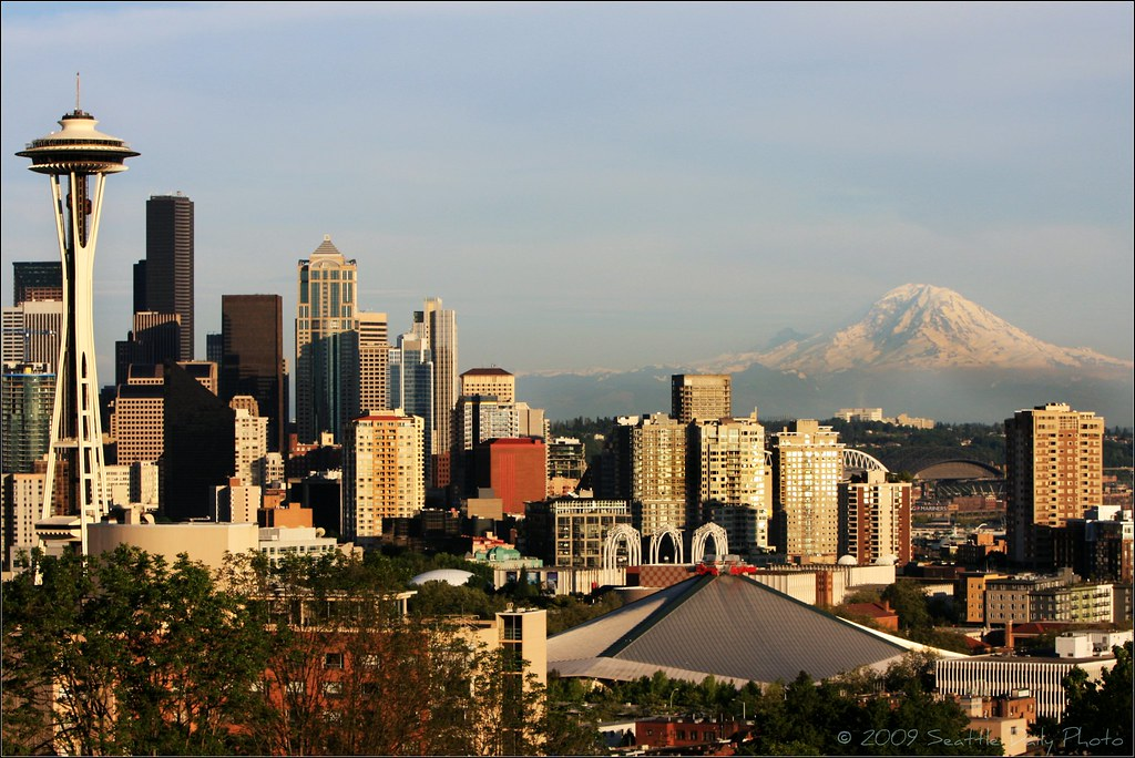 2009 Seattle Skyline