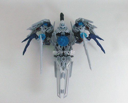 Transformers Soundwave RotF Deluxe - modo satélite