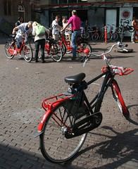 Mac bike tourists by drooderfiets