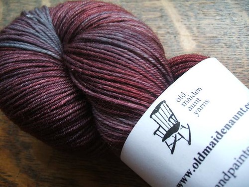 Old Maiden Aunt sock yarn
