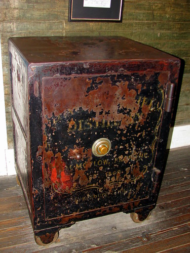The safe that killed Jack Daniels