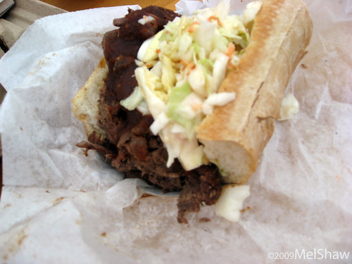 Sheena's Brisket Sandwich