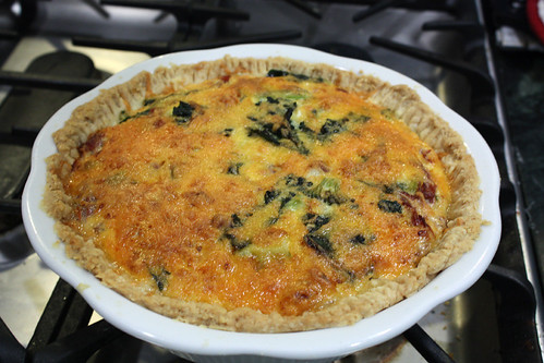 Whole Broccoli Quiche