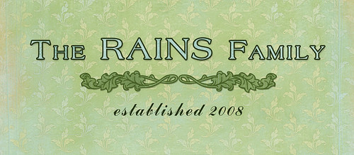 Rains Family: Established Sign (digital)