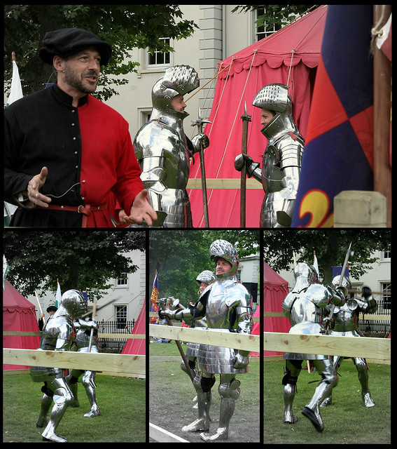 Tudor Battle re-enactment