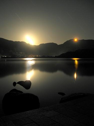 Puesta de luna / Moonset