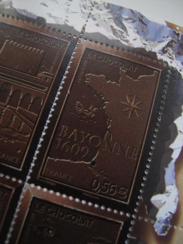 Timbres au chocolat