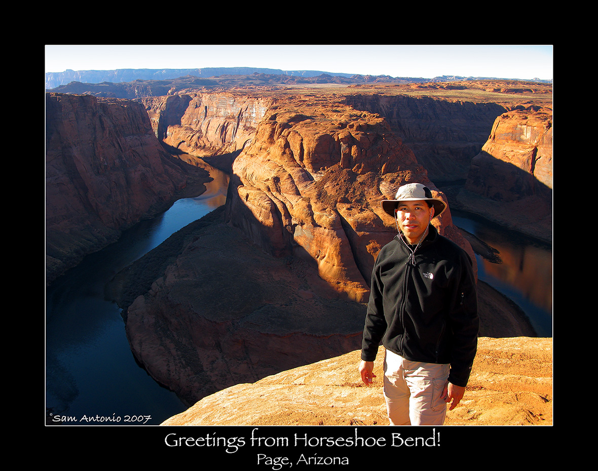 Greetings from Horseshoe Bend!