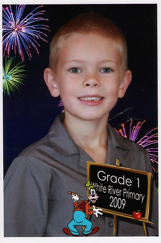 gr. 1 school photo joshua