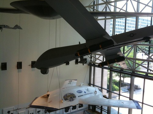 Unmanned Aerial Vehicles (UAVs) in the Smithsonian Air and Space Museum