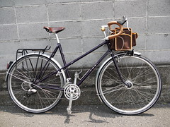 "Chrissy's Toei Mixte, ""A Touring Bicycle"" Final Build (WillJL) Tags: classic bike bicycle japan japanese wiring hand steel womens bicycles made frame commuter berthoud custom chrissy touring fenders brooks busch b17s mavic classy toei internal mueller nitto schwalbe shimano kaisei mixte honjo handbuilt randonneur sugino lugged allaround randonneuse cotcmostinteresting tubus cyclotouring decaleur lumotec a719 dh3n80 guuwatanabe"