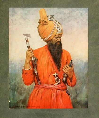 004- Criado de Jind-The people of India 1910