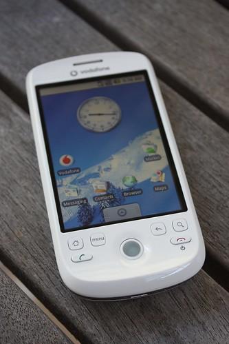 HTC Magic: Home screen