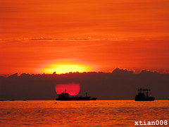 Manila Bay sunset 2 (Christian Bederico) Tags: sunset sun asia philippines manila manilabay pilipinas