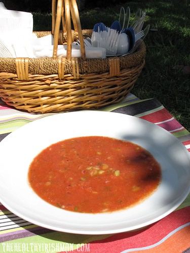 Refreshing Summer Gazpacho