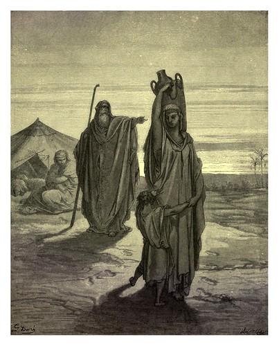 018- La expulsion de Hagar-Gustave Doré