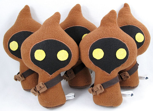Cutesypoo Jawa Group from Stitch Wars, Bear and Bird 2009
