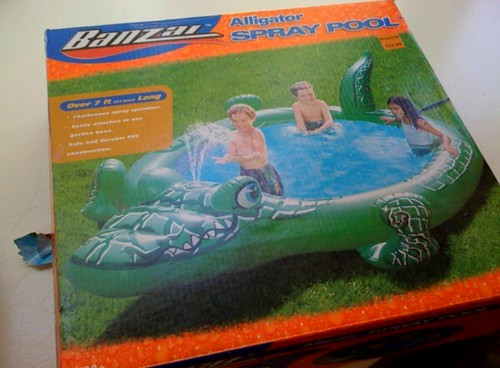 Honesty in advertising #464: Photoshopped kids in Five foot pool