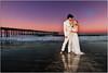 Yes, It's Real (Extra Medium) Tags: ocean wedding sunset reflection groom bride pier glow husband wife cayucos losangelesweddingphotographer santabarbaraweddingphotographer thereflectionis100real venturacountyweddingphotographer camarilloweddingphotographer venturaweddingphotographer malibuweddingphotographer