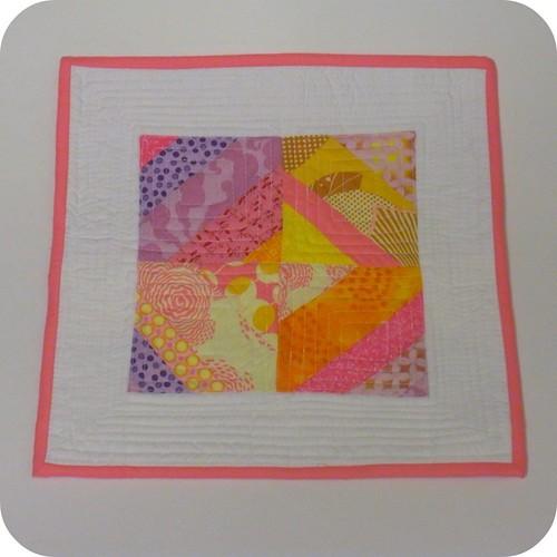String Mini Quilt #2