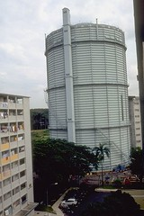 PUB Gas Tank at Tanglin Halt