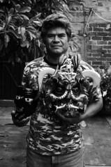 Felipe Horta at his workshop in Tocuaro (gonzaloh) Tags: blackandwhite bw white black blancoynegro blanco méxico d50 mexico nikon noir noiretblanc negro nikond50 masks mexique sw diablo michoacán craftsman mx bianco blanc nero schwarz artisan biancoenero mexiko masques messico máscaras negrito maskmaker weis artesano schwarzweis meksiko メキシコ meksyk mexikó المكسيك мексика μεξικό mascarero tócuaro felipehorta