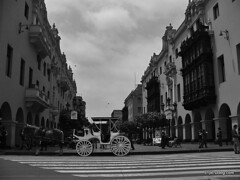 Lima and Callao in Black and White