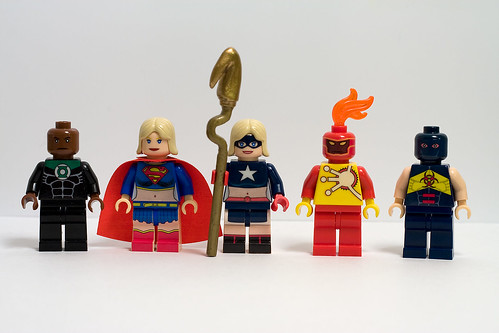 DC Hero custom Minifigs