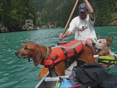 (Turtblu) Tags: camping david me pie video laika canoeing rosslake northerncascades diablolake