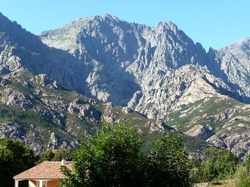 Le Migliarellu depuis Bocognanu/Bussu