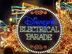 Mickey's Train in Disney's Electric Parade