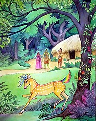 Art Of Ramayan - ISKCON desire tree 017