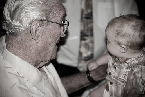 with great grandpa