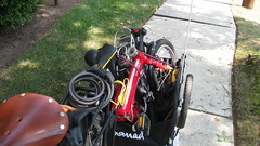 IMG_1733.JPG (neilfein) Tags: bike bicycle trailer foldingbike littlered