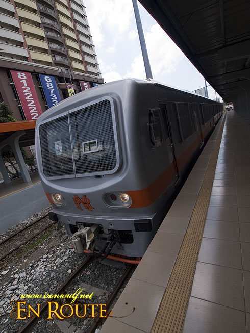PNR: New Train at Buendia Station