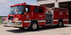 Oshkosh Fire Department E19 1998 Pierce Quantum (Winglet Photography) Tags: rescue wisconsin fire 911 firetruck pierce fireengine firefighting emergency paramedic quantum oshkosh ofd station19 wingletphotography georgewidener georgerwidener