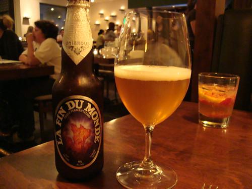 La Fin Du Monde Beer
