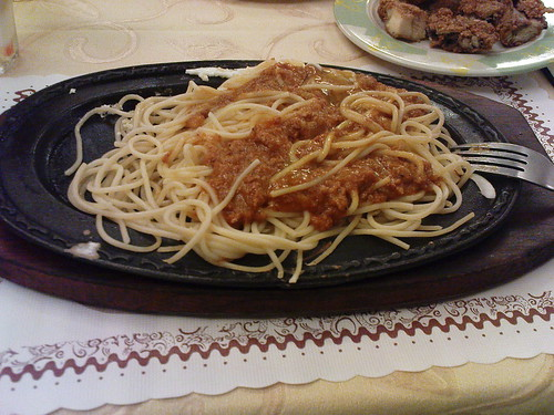 我的義大利肉醬麵