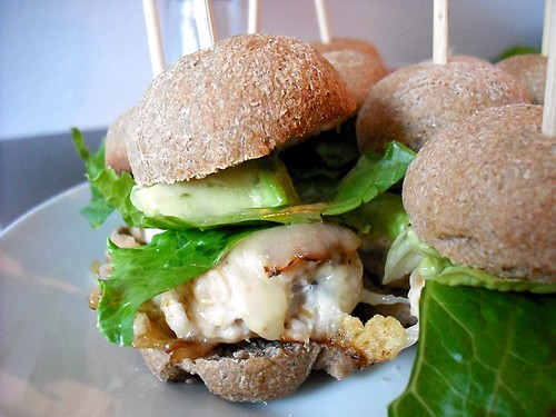 Mini Turkey Burger