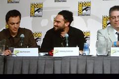 Big Bang Theory Panel 11 (heath_bar) Tags: california ca sandiego comiccon 2009 cbs onthefloor sdcc johncho sandiegoconventioncenter kaleycuoco bigbangtheory jimparsons simonhelberg kunalnayyar