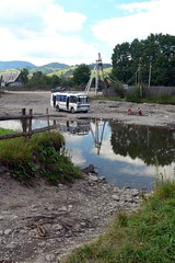 Ford (MyBukit) Tags: bus ford river village brod ukraina tysa ukrajina eka karpaty chorna carpathy zakarpattia orna yasinia zakarpat