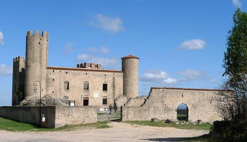 Château d'Essalois (Loire, France) par Denis Trente-Huittessan